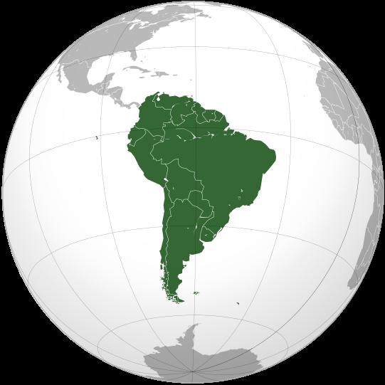 BRASIL - À AMÉRICA DO SUL