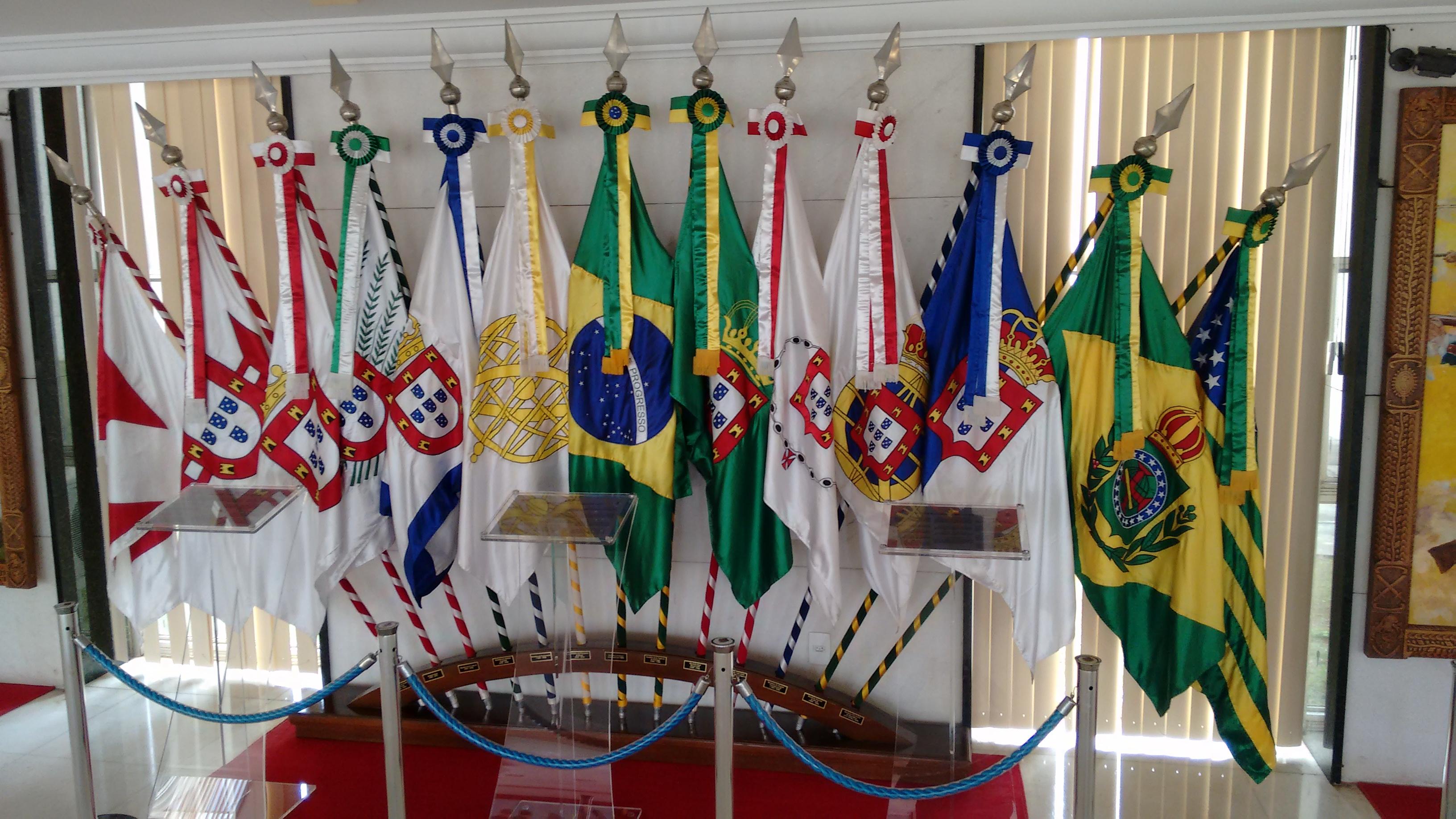 Bandeiras Oficial dos Golpes de Estado Internacional no Brasil