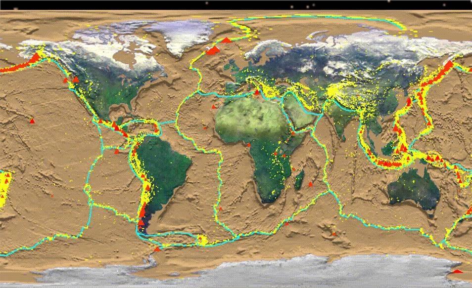 Percentagem de População Versos Percentagem de Água Por Continente