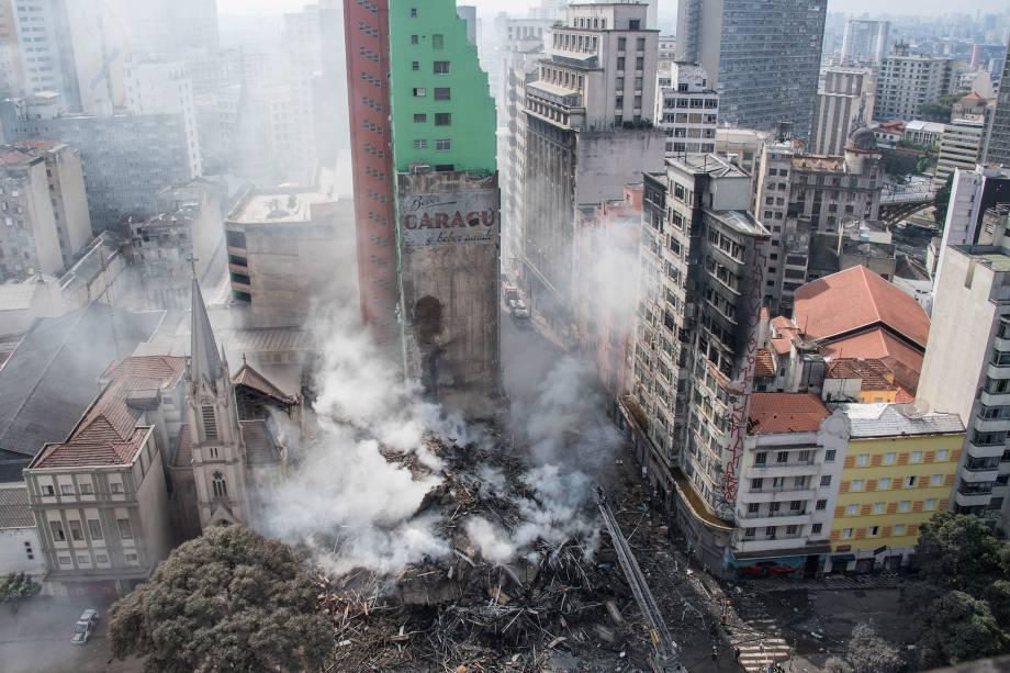 Tragédia com o Edifício Wilton Paes de Almeida 08