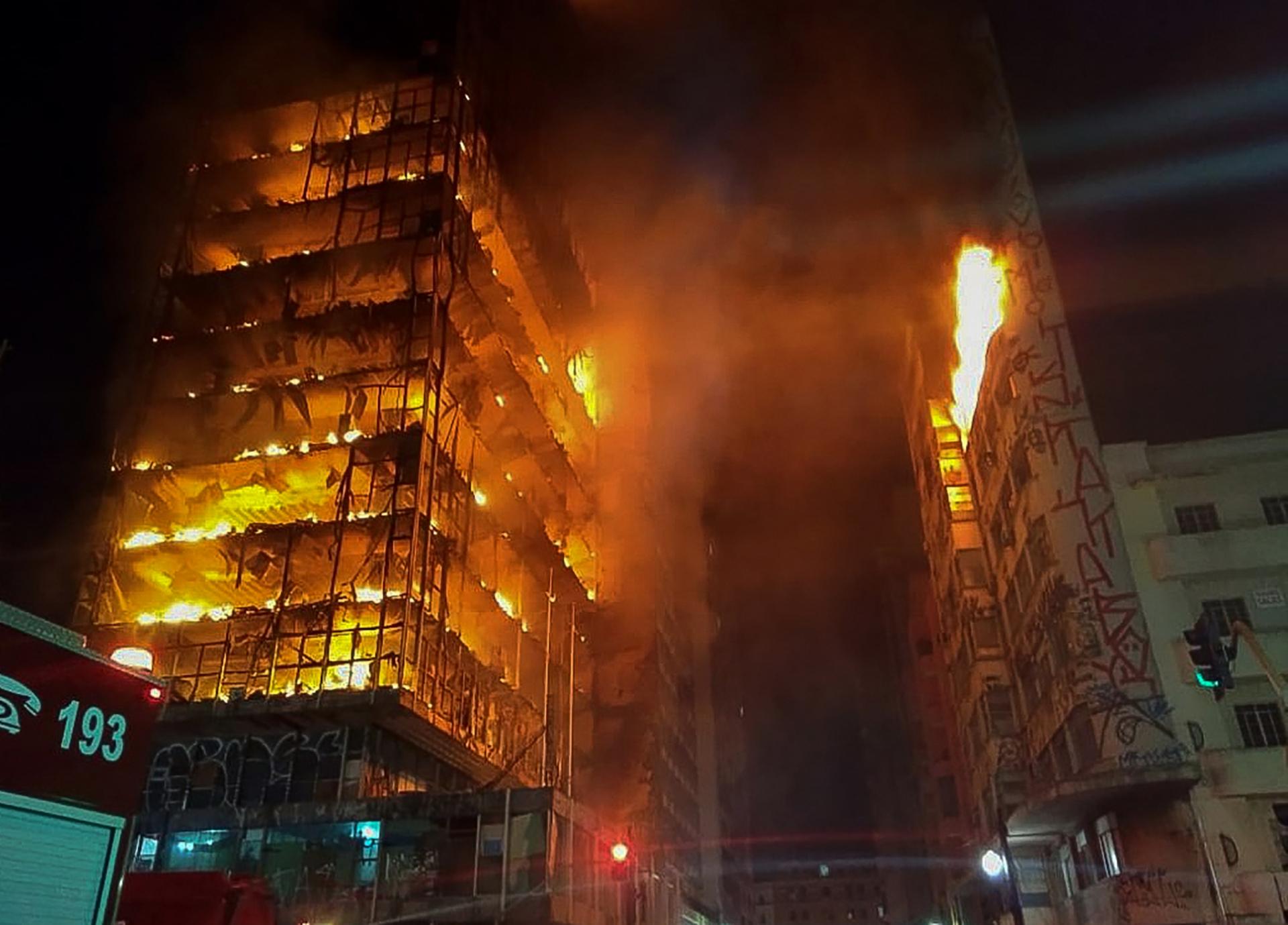 Tragédia com o Edifício Wilton Paes de Almeida 09