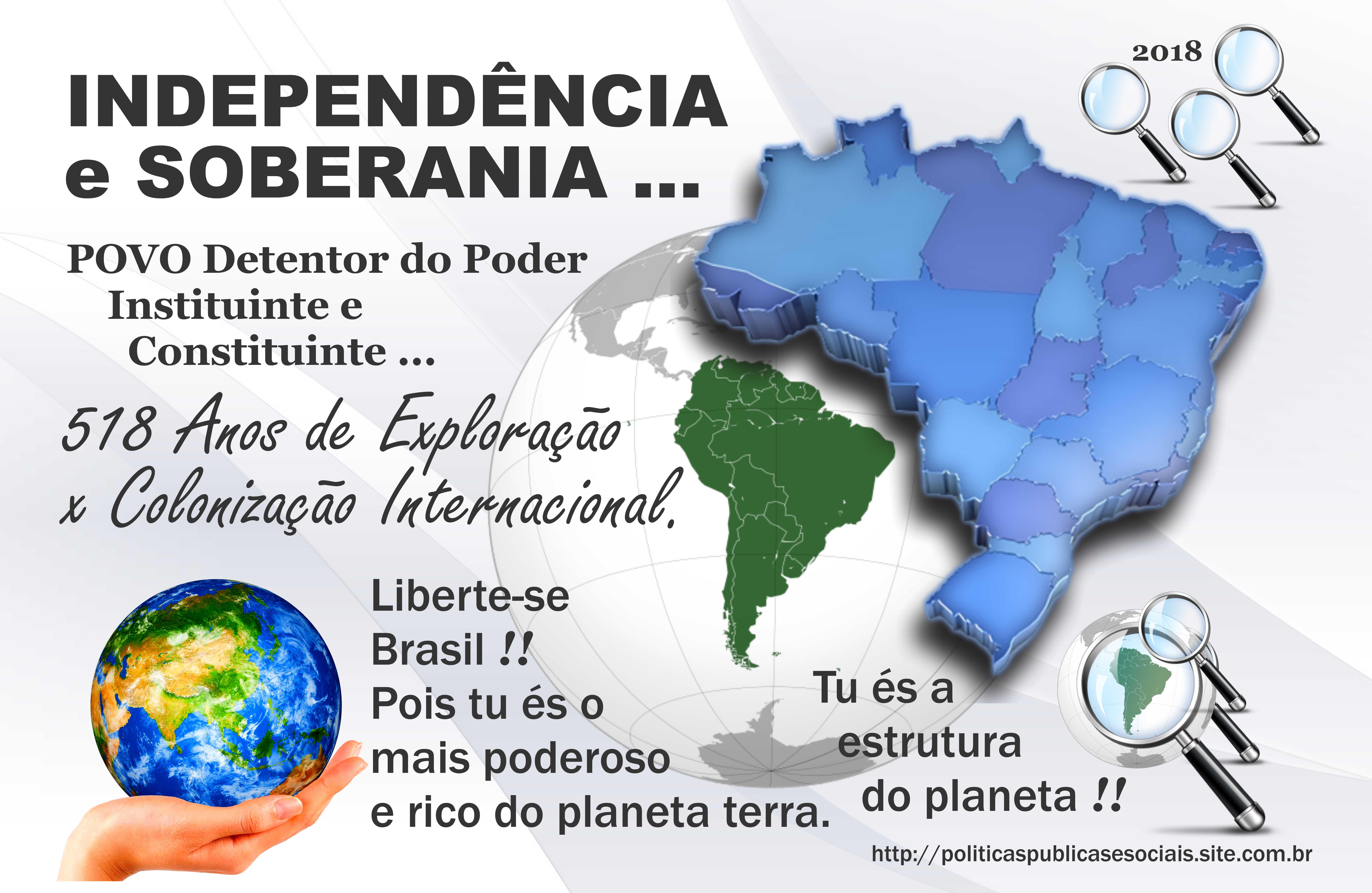 INDEPENDÊNCIA e SOBERANIA BRASIL 01