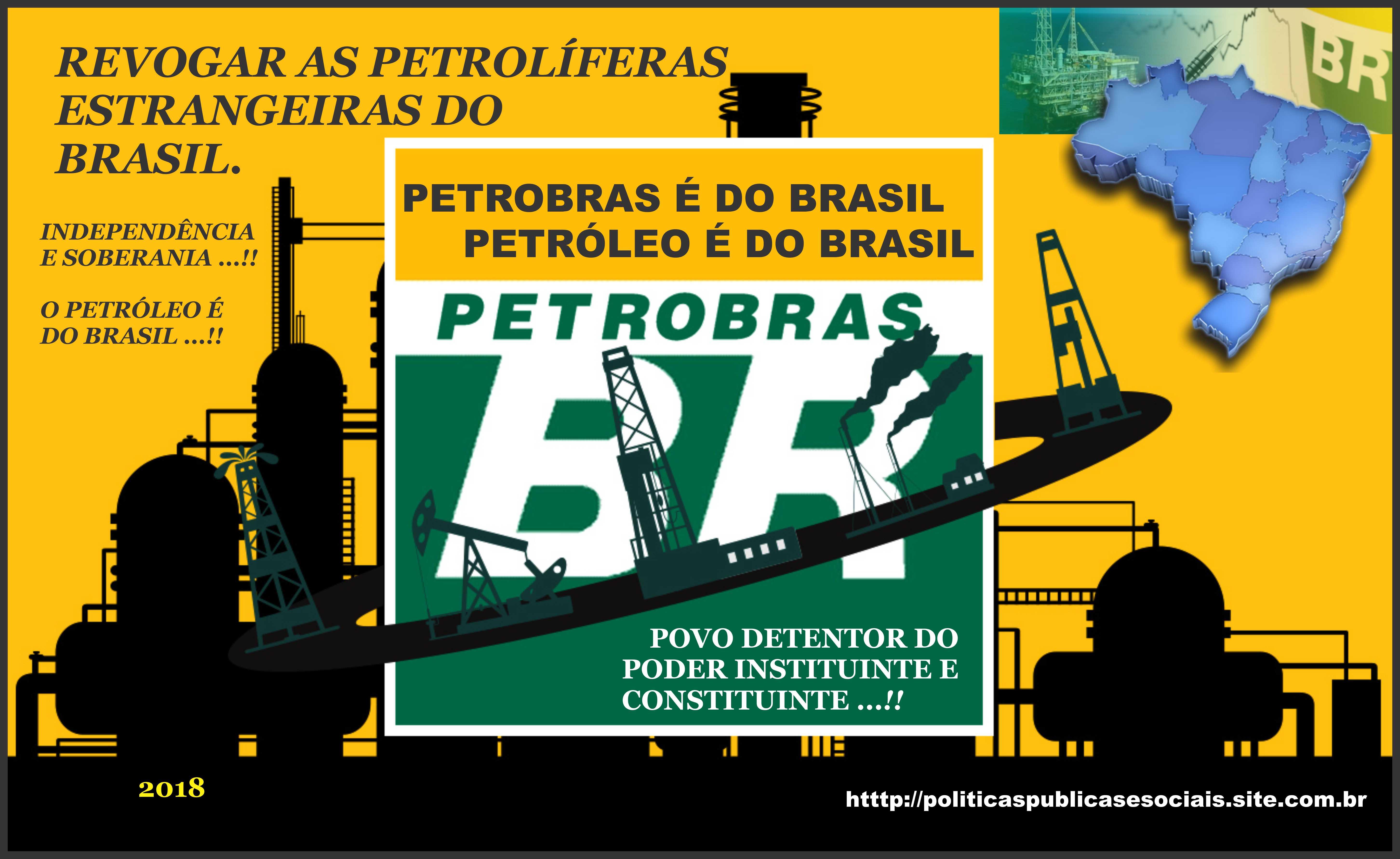 O PETRÓLEO É DO BRASIL 04 2018