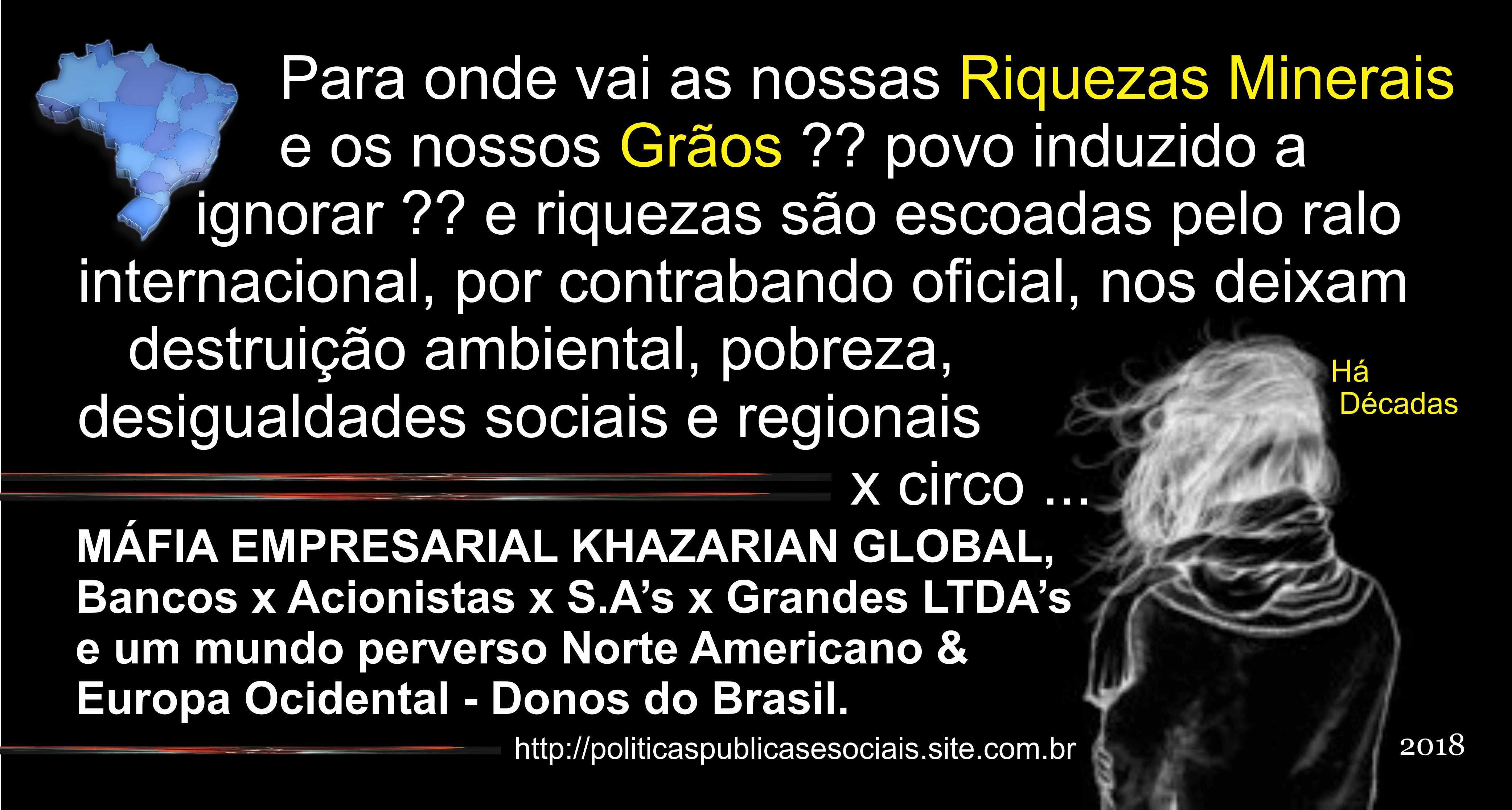 RIQUEZAS MINERAIS X GRÃOS BRASIL 001