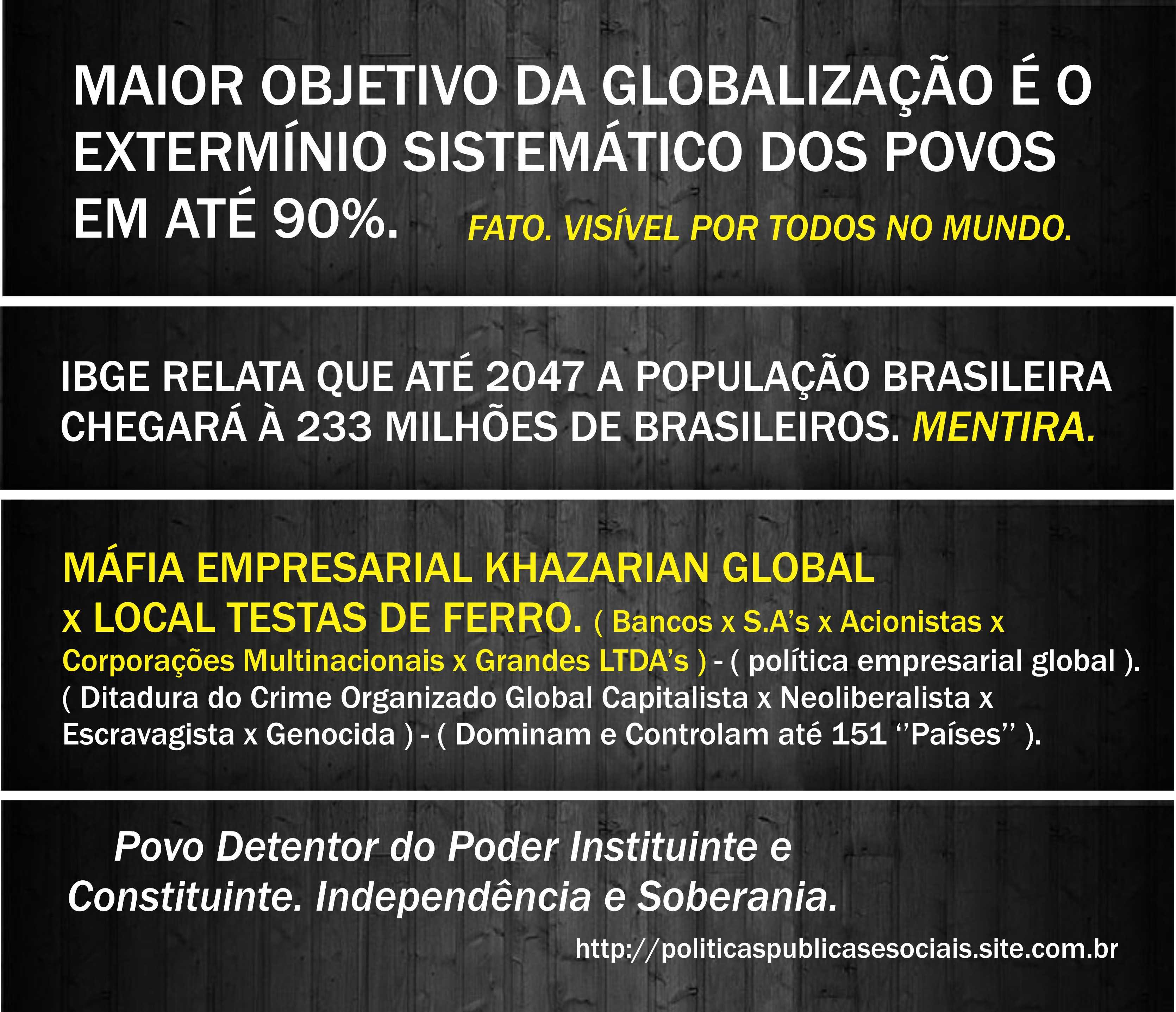 GLOBALIZAÇÃO Revogar 0001