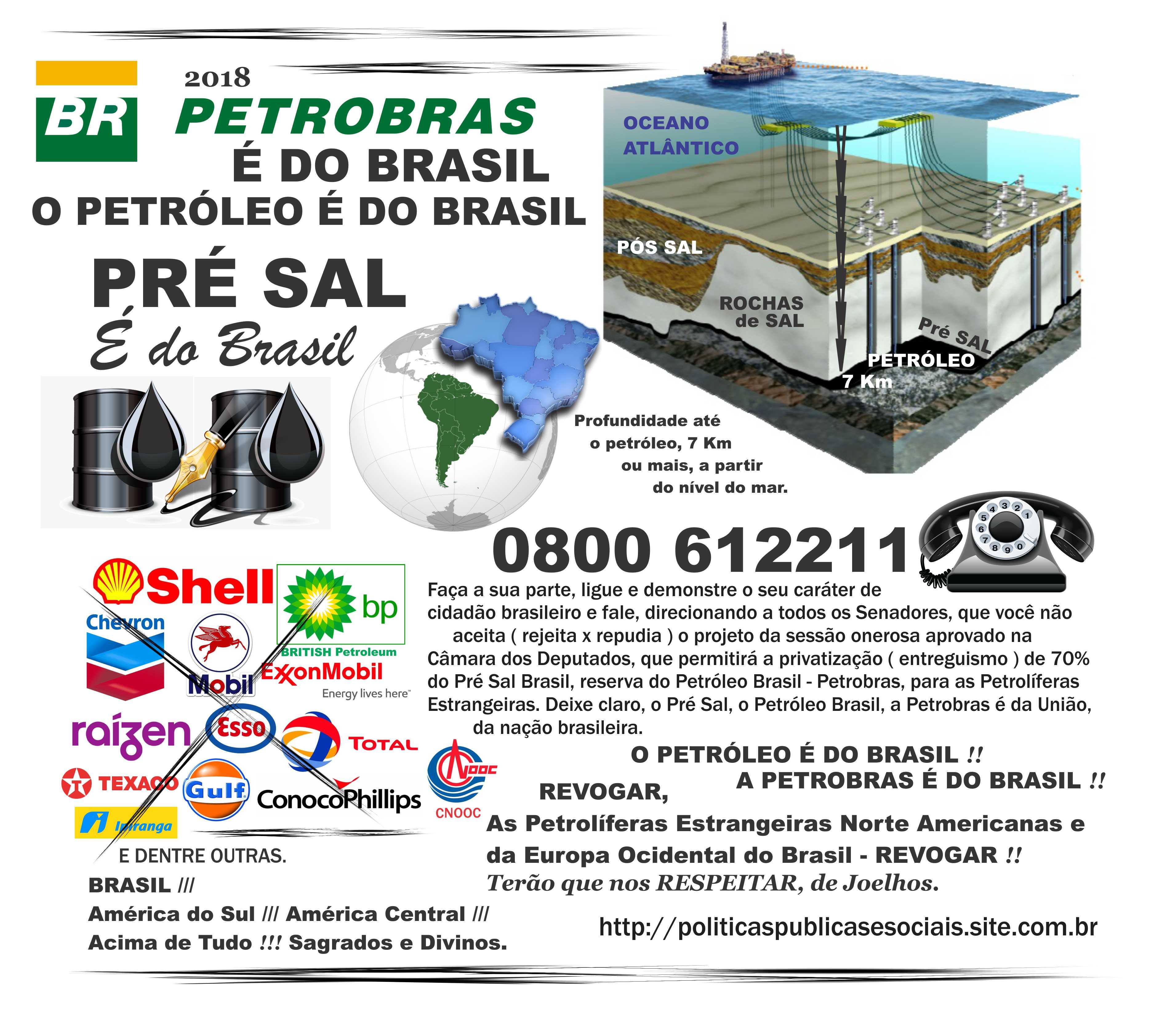 O PRÉ SAL É DO BRASIL 05