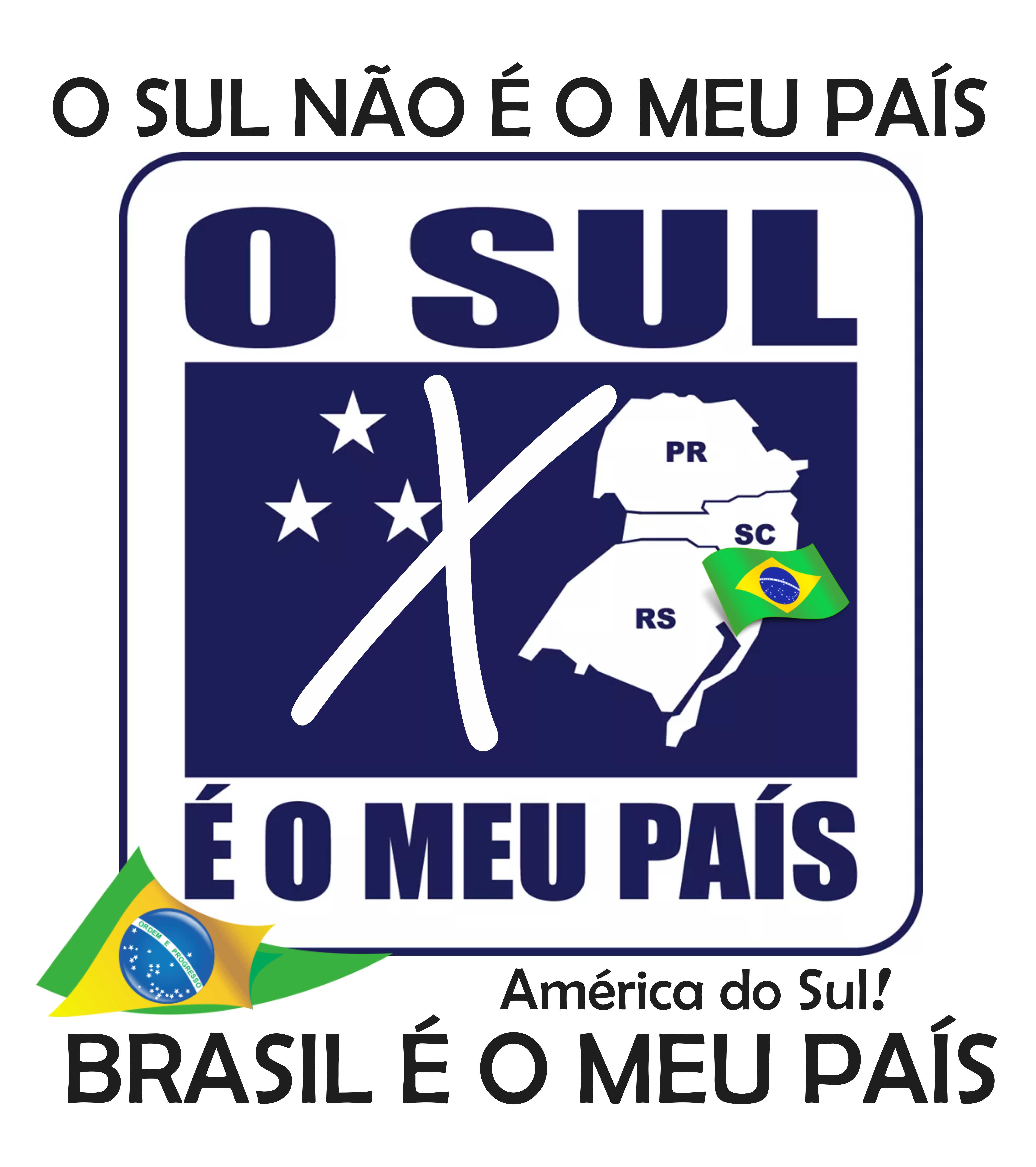 BRASIL é o MEU PAÍS América do Sul