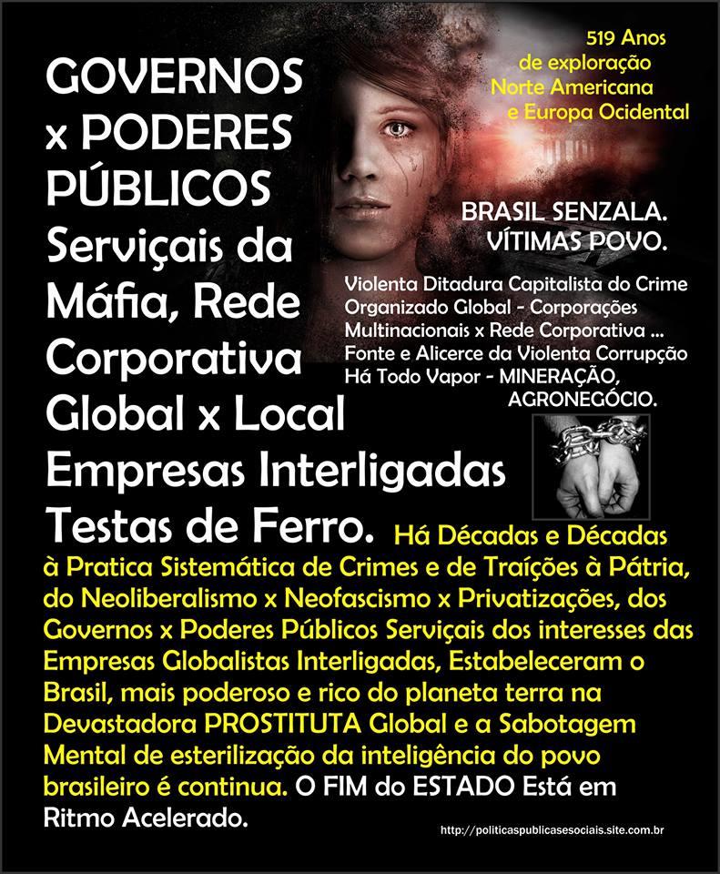 FIM do ESTADO Brasil América do Sul