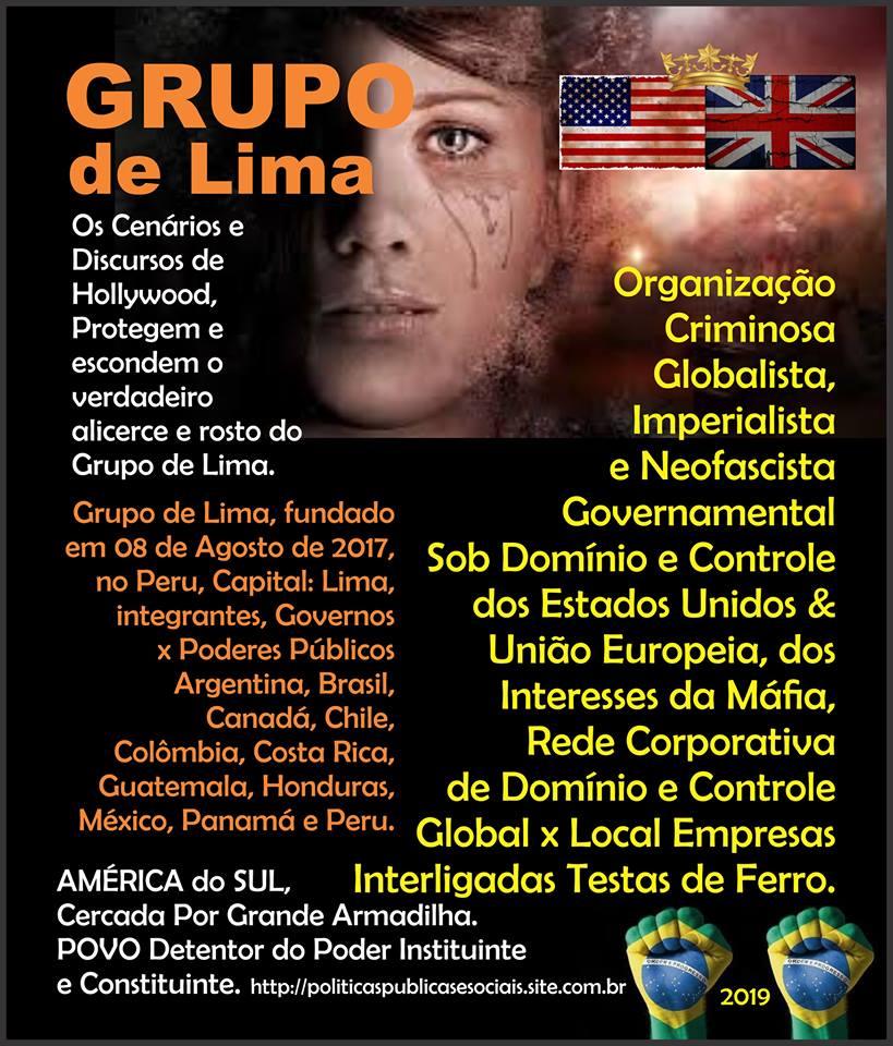 Grupo de Lima AMÉRICA do SUL