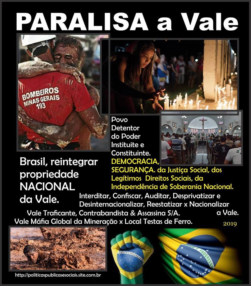 PARALISA a VALE BRASIL AMÉRICA do SUL