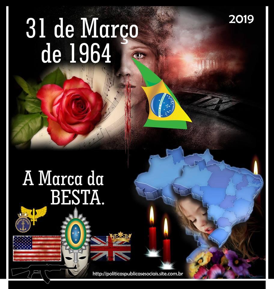 MARÇO 31 1964 Golpe Internacional