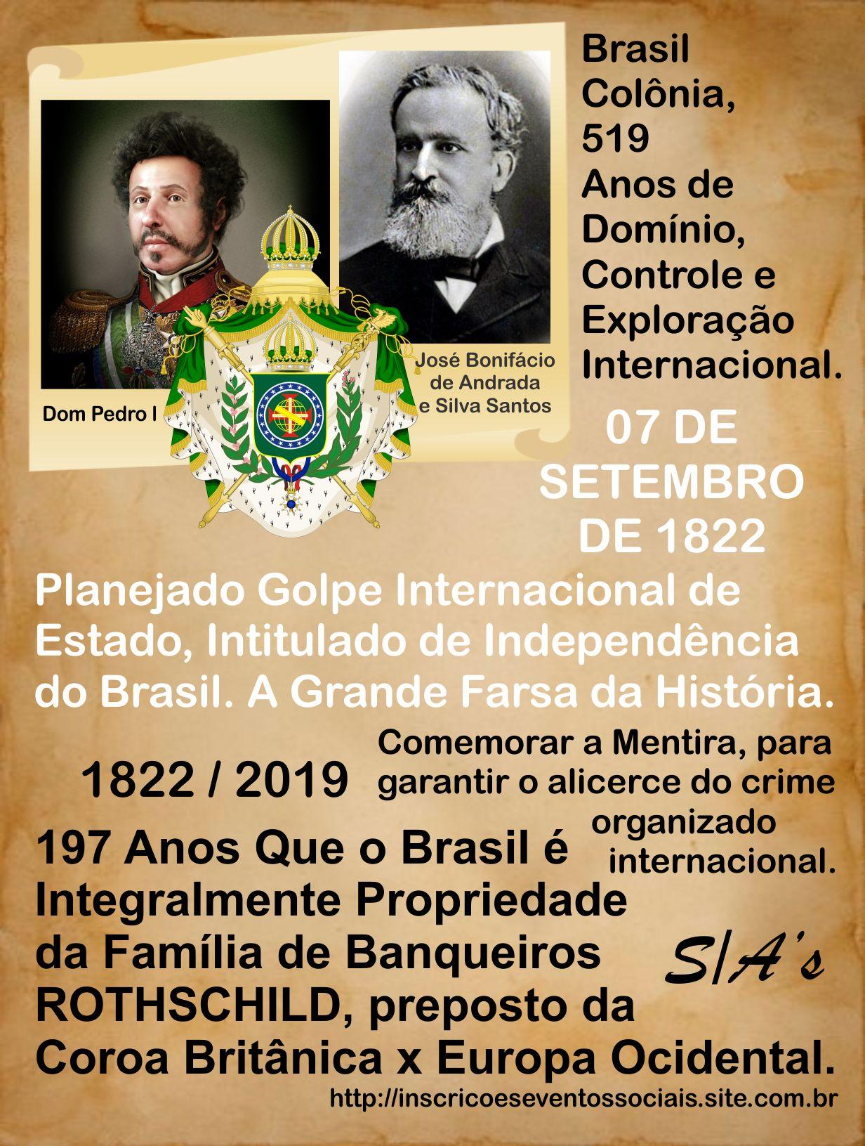 INDEPENDÊNCIA DO BRASIL FRAUDE